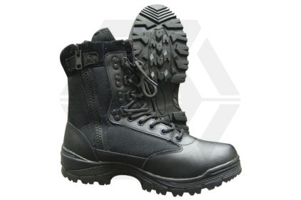 Tru-Spec Tactical Side Zipper Boots (Black) - Size 12.5 UK / 13 US