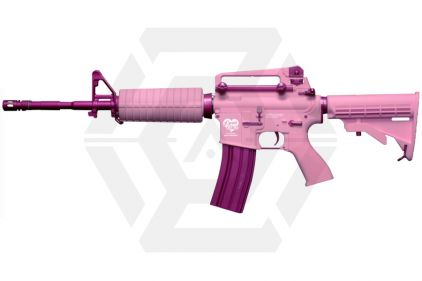 G&G Combat Machine AEG with Blowback FF16 Pink Storm