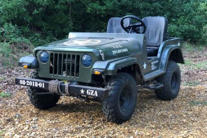 Willy's Jeep (200cc) © Copyright Zero One Airsoft