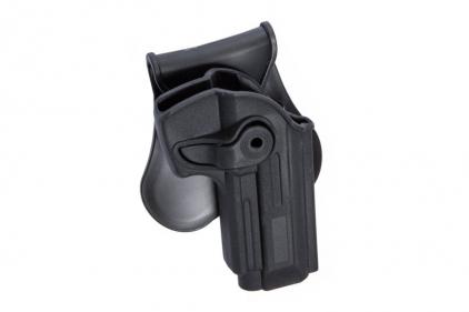 ASG Rigid Polymer Holster for M92 (Black)