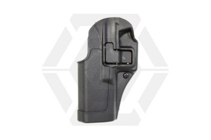 BlackHawk CQC SERPA Holster for Glock 17, 22, 31 & 18C Left Hand (Black) © Copyright Zero One Airsoft