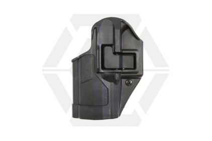 BlackHawk CQC SERPA Holster for F99 Left Hand (Black) © Copyright Zero One Airsoft