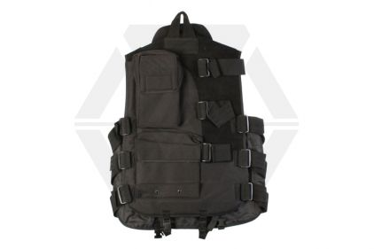 Mil-Force Duty Unit Assault Vest (Black)
