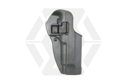 Blackhawk CQC SERPA Level 2 Sportster Holster for Beretta M92F Right Hand (Gun Metal Grey)