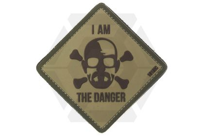 "101 Inc PVC Velcro Patch ""I Am The Danger"""