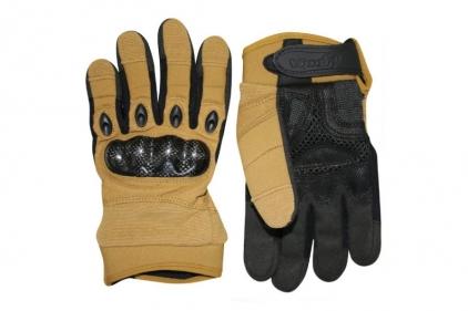 Viper Elite Gloves (Coyote Tan) - Size Small © Copyright Zero One Airsoft
