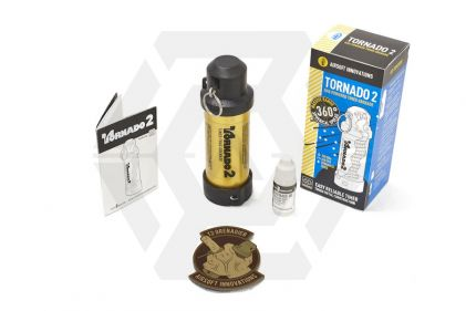 Airsoft Innovations Tornado 2 (GOLD) - Limited Edition © Copyright Zero One Airsoft