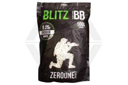 Zero One Blitz BB 0.25g 5000rds (White)