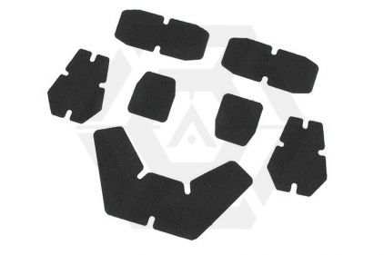 FMA Adhesive Velcro Backing Set for Helmets (Black)
