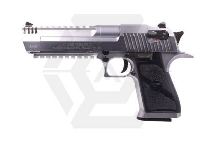 WE/Cybergun GBB Desert Eagle L6 .50AE (Silver) © Copyright Zero One Airsoft