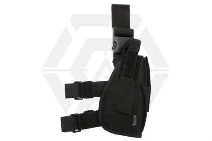 Mil-Force Tactical Drop Leg Thigh Holster for Medium Laser Aided Pistols, Right Handed (Black)
