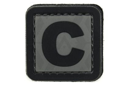 "VOS PVC Velcro Patch ""C"""