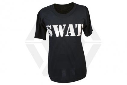 """Tru-Spec """"SWAT"""" T-Shirt (Black) - Size Large"""