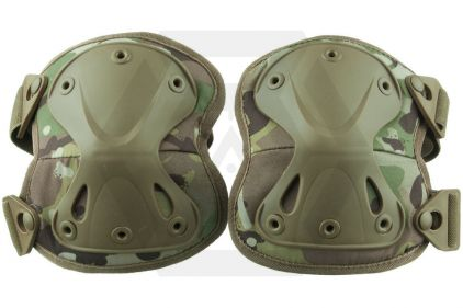 Viper Hard Shell Knee Pads (MultiCam) © Copyright Zero One Airsoft