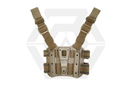 Blackhawk CQC SERPA Holster Drop Leg Platform (Coyote Tan)