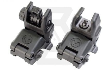 Magpul PTS MBUS Flip-Up Sight Set (Black)