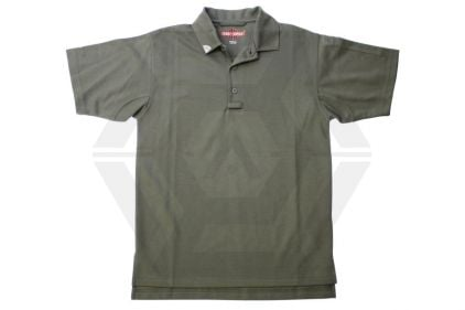 Tru-Spec 24/7 Polo Shirt (Green) - Size Medium © Copyright Zero One Airsoft