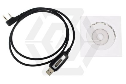 Retevis Programming Cable & CD for H-777 Radio © Copyright Zero One Airsoft
