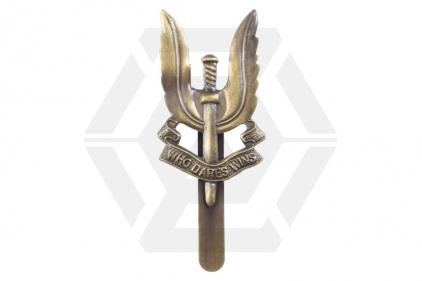 Metal Capbadge - SAS Regiment © Copyright Zero One Airsoft
