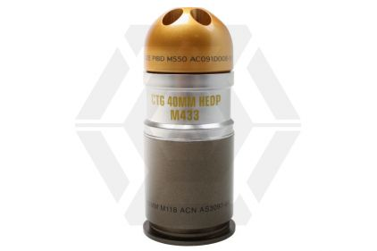 Tokyo Marui 40mm Shell for Tokyo Marui M320A1 18rds © Copyright Zero One Airsoft