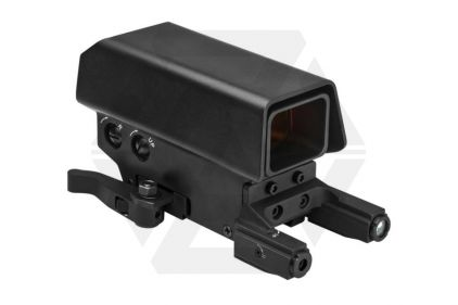 NCS Urban Red Dot Sight with Green Laser & Red/White Navigation Light