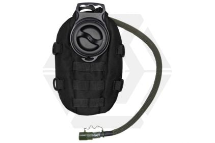 101 Inc MOLLE Waterpack with 1.5L Hydration Bladder (Black)