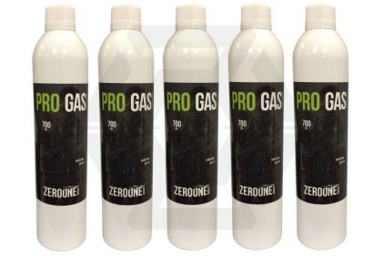 Zero One Pro Gas Pack of 5 (Bundle) © Copyright Zero One Airsoft