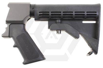 Star CQB Stock for SSG M870 © Copyright Zero One Airsoft