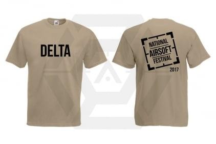 Daft Donkey Special Edition 'NAF 2017 Delta' T-Shirt (Tan)