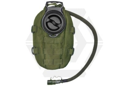 101 Inc MOLLE Waterpack with 1.5L Hydration Bladder (Olive) © Copyright Zero One Airsoft
