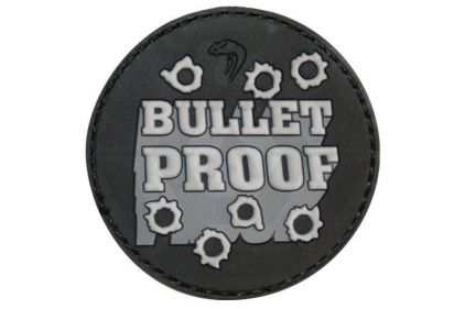 "Viper Velcro PVC Morale Patch ""Bullet Proof"""