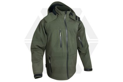 Jack Pyke Soft Shell Jacket (Olive) - Medium