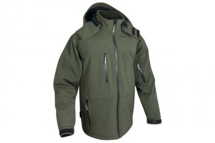 Jack Pyke Soft Shell Jacket (Olive) - Medium