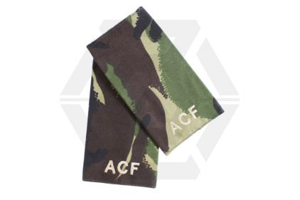 Rank Slide Pair (DPM) - ACF © Copyright Zero One Airsoft