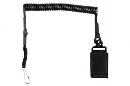 101 Inc Deluxe Pistol Lanyard (Black)