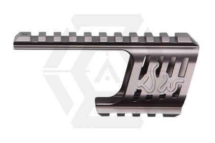 ASG CNC Rail Mount for Dan Wesson 715 Revolver (Steel Grey)