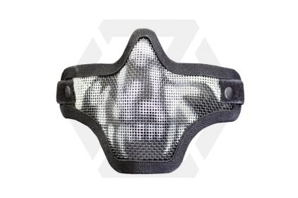 101 Inc 'Skull' Mesh Mask (Black) © Copyright Zero One Airsoft