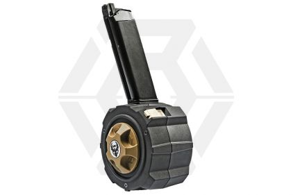 HFC GBB Drum Mag for Glock 145rds