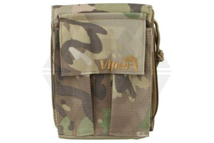 Viper MOLLE A6 Notebook Holder with Waterproof Notebook (MultiCam) © Copyright Zero One Airsoft
