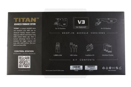 GATE Electronics TITAN MOSFET Full Set for GBV3 with Advanced Firmware