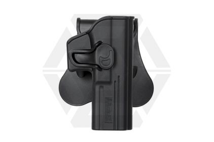 Amomax Rigid Polymer Holster for G17 (Black) © Copyright Zero One Airsoft