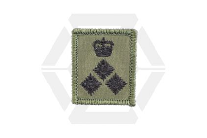 Helmet Rank Patch - Brigadier (Subdued) © Copyright Zero One Airsoft