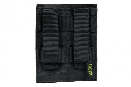 101 Inc MOLLE Elastic Double Pistol Mag Pouch (Black)