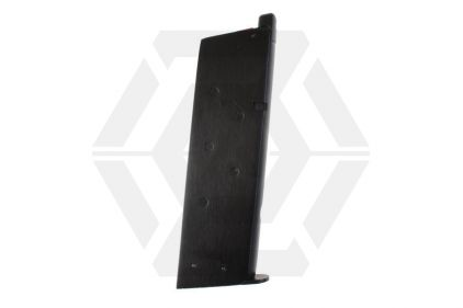 Armorer Works GBB GAS Mag for 1911 15rds (Black)