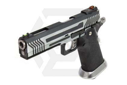 Armorer Works GBB GAS/CO2 DuelFuel Hi-Capa HX11 (Silver/Black)