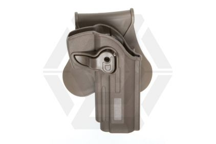 ASG Rigid Polymer Holster for M92 (Dark Earth) © Copyright Zero One Airsoft