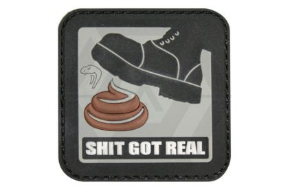 "Viper Velcro PVC Morale Patch ""Shit Got Real"""