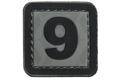 "VOS PVC Velcro Patch ""9"""