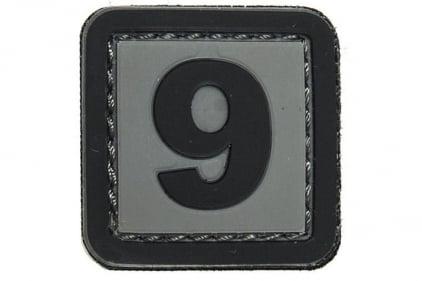 """VOS PVC Velcro Patch """"9"""""""