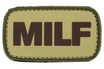 "VOS PVC Velcro Patch ""MILF"""